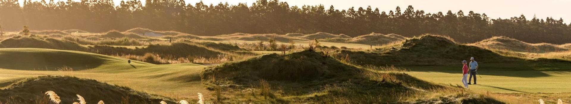 Golfing the North Island